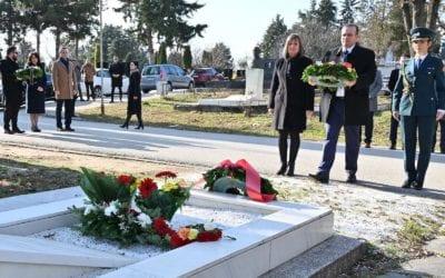 Одбележани 8 години од смртта на претседателот Глигоров