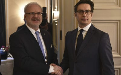 Билатерални средби на претседателот Пендаровски со претседателот на Латвија, со премиерот на Хрватска и со шефот на Баварската државна канцеларија и државен министер за сојузни работи