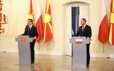 Изјава на претседателот Пендаровски за време на официјалната посета на Република Полска