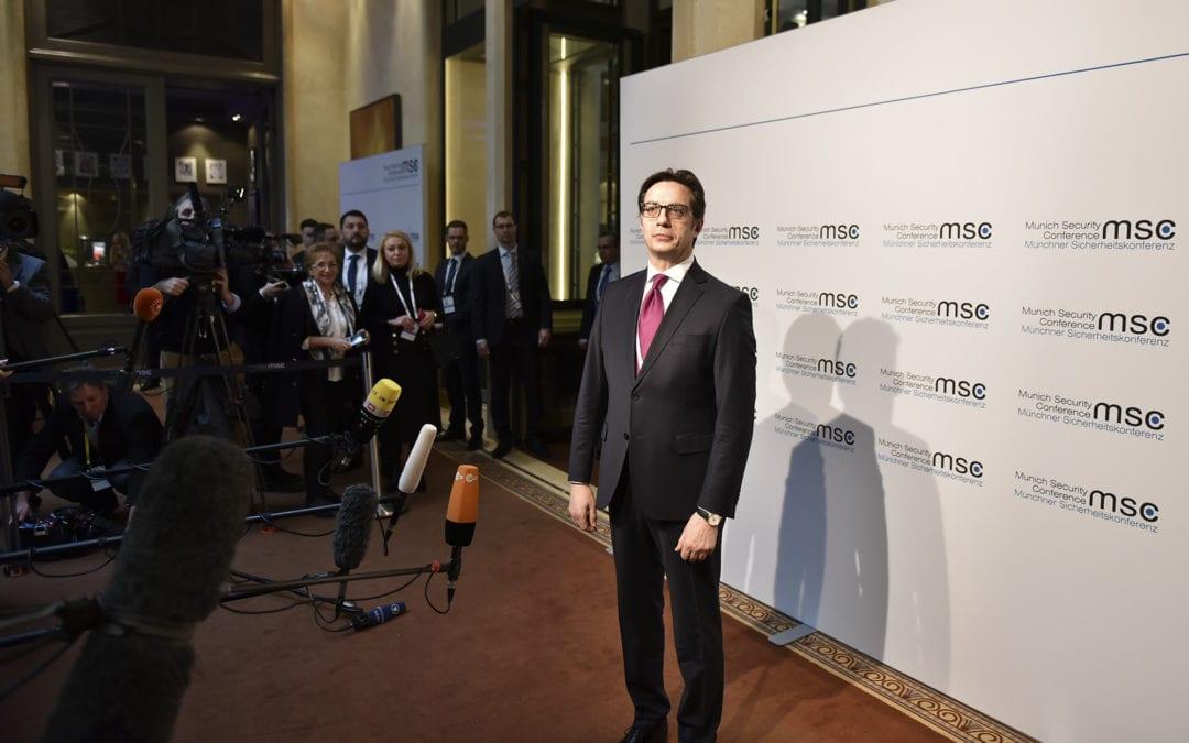 Претседателот Пендаровски на 56. Минхенска безбедносна конференција