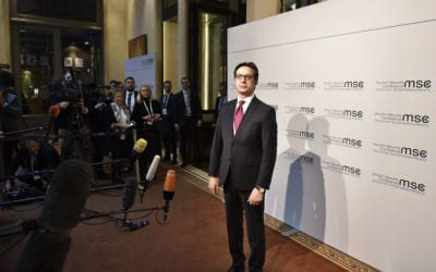 President Pendarovski at the 56th Munich Security Conference