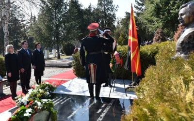 Одбележување на 16-годишнината од загинувањето на претседателот Борис Трајковски