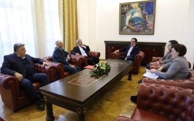 Претседателот Пендаровски прими претставници на Комитетот за заштита на правата
