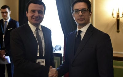 Bilateral meetings of President Pendarovski with the Prime Minister of Kosovo and the Prime Minister of Armenia