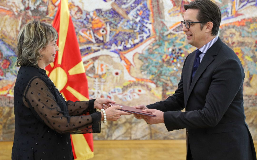 Претседателот Пендаровски  ги прими акредитивните писма на новоименуваните амбасадори на Република Куба и на Арапската Република Египет