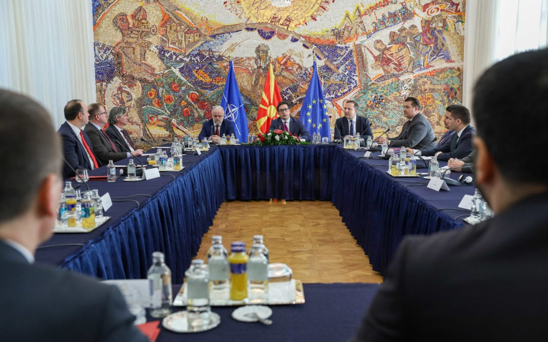 Leadership meeting at President Pendarovski: Joint consensus on election postponement