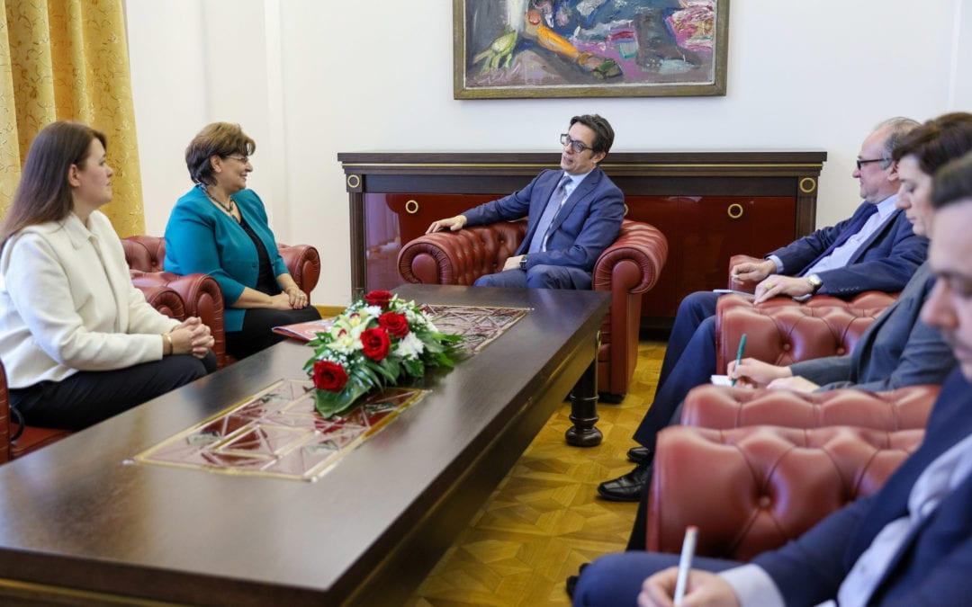 Претседателот Пендаровски покровител на франкофонските активности во 2020 година