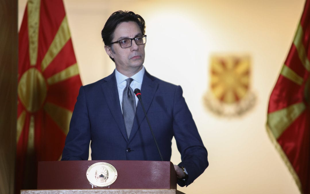 President Pendarovski: No need to declare a state of emergency or crisis in the whole territory at this point
