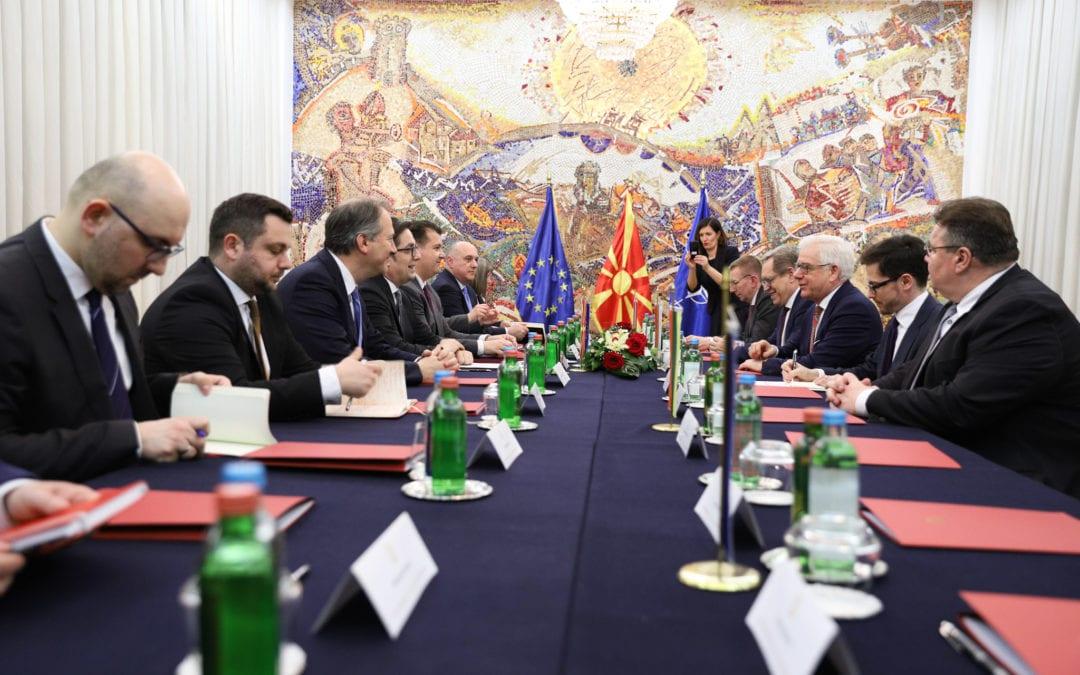 """Средба со министри за надворешни работи на држави од групата """"Пријатели на проширувањето"""""""
