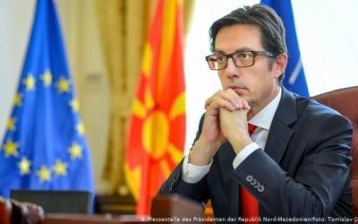 Интервју на претседателот Пендаровски за Дојче Веле на македонски јазик: Неспорно е дека ќе добиеме датум во наредниов период