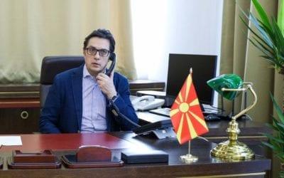 President Pendarovski's telephone conversation with US Secretary of State Pompeo