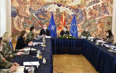 Prezantimi i perspektivës gjinore në mbrojtje para Presidentit Pendarovski