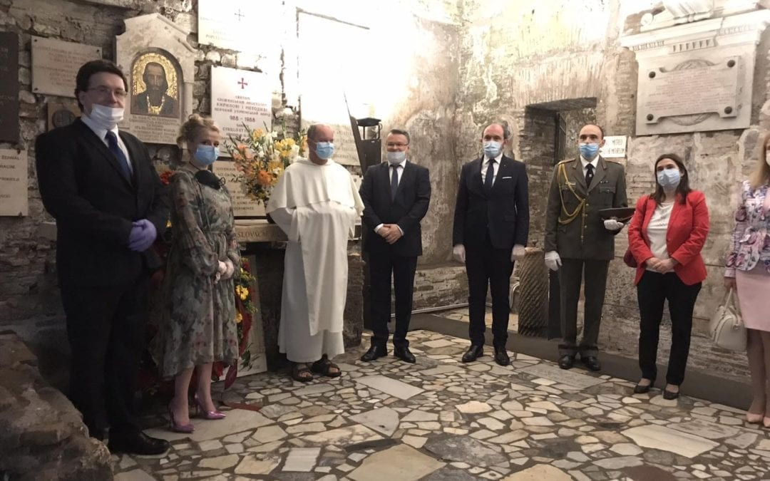 The day of All-Slavic educators Ss. Cyril and Methodius marked in Rome