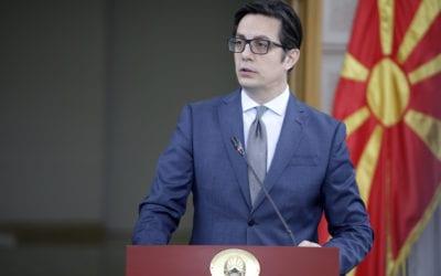 Обраќање на претседателот Пендаровски по седницата на Советот за безбедност