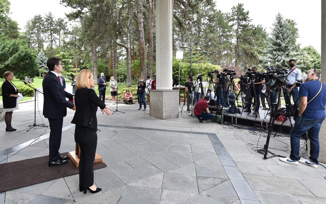 Обраќање на претседателот Стево Пендаровски