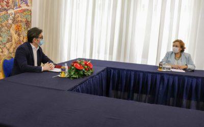 Проштална средба со претставници на Специјалната изборна оценска мисија на ОБСЕ/ОДИХР