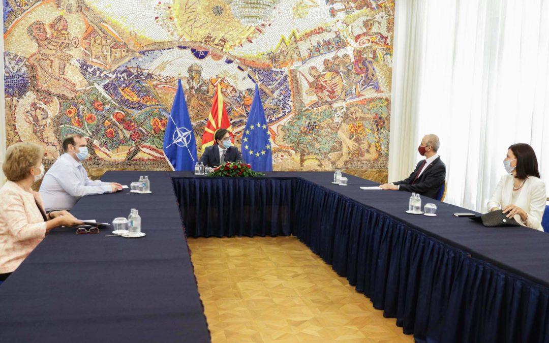 Проштална средба со словенечкиот амбасадор Јазбец