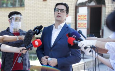 Statement by President Pendarovski after voting in the early parliamentary elections