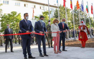 Претседателот Пендаровски го означи почетокот на работата на Главниот штаб на Бригадата на Југоисточна Европа во Куманово