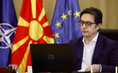 """Учество на претседателот Пендаровски на Вебинар """"Геополитичките проблеми на Западен Балкан среде Корона криза; Евроатлантска перспектива"""""""