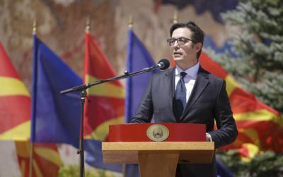 Address by President Pendarovski for the celebration of the state holiday August 2nd – Ilinden in Pelince