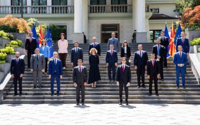 Претседателот Пендаровски го прими премиерот Заев и министрите во новата Влада