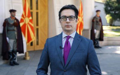 Честитки до претседателот Пендаровски по повод Денот на независноста на Република Северна Македонија