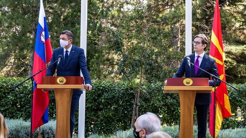 Пендаровски на прес конференција со Пахор: Споделуваме заедничка сегашност како сојузници во НАТО,а ќе имаме и заедничка иднина како дел од ЕУ