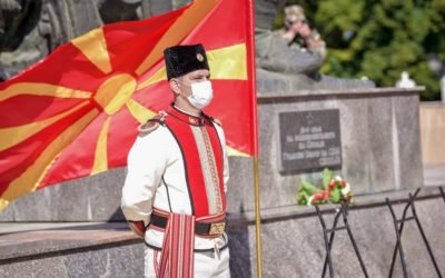 Celebrating October 11th, National Uprising Day of the Macedonian people