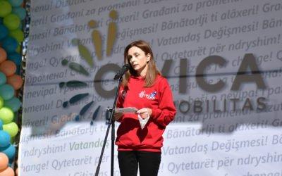 """Festivali """"Dita e organizatave qytetare"""" nën patronazh  të bashkëshortes së Presidentit"""
