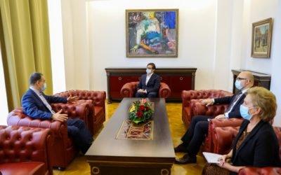 Farewell meeting with the Ambassador of Romania, Viorel Stanila