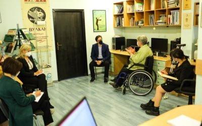 """Средба на претседателот Пендаровски со претставници на граѓанската организација """"Полио Плус"""""""