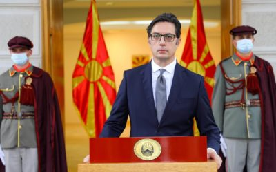 Message by President Pendarovski on the occasion of October 11 – National Uprising Day
