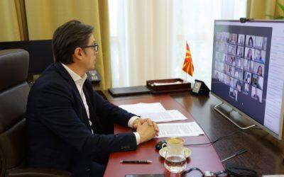 Обраќање на претседателот Пендаровски на 18. Меѓународна младинска конференција