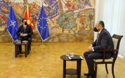 Takim me Fatmir Bytyqin, Zëvendëskryetarin e Qeverisë i angazhuar për  çështjet ekonomike, koordinimin e resorëve ekonomik dhe investimet
