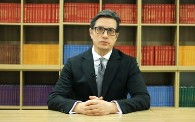 Message from President Pendarovski on the occasion of November 26, International Day of French Language Teachers