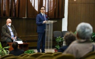 Presidenti Pendarovski në Ditën Ndërkombëtare të Personave me Aftësi të Kufizuara: Përveç masave të institucioneve që janë më të rëndësishme për momentin, ekziston nevoja për një përgjegjësi më të madhe individuale