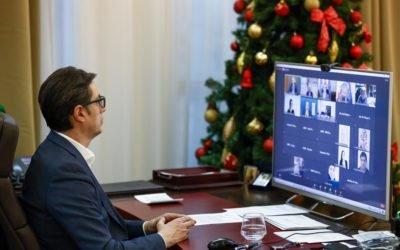 Обраќање на претседателот Пендаровски на регионалната презентација на Извештајот за човеков развој на УНДП