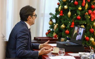 Интервју на претседателот Пендаровски за руски Коммерсант