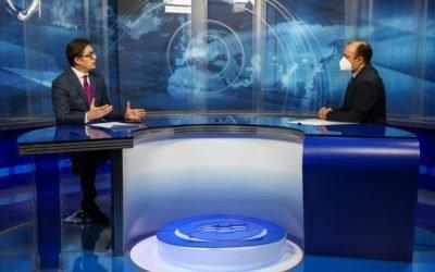 Интервју на претседателот Пендаровски за дневникот на ТВ Сител