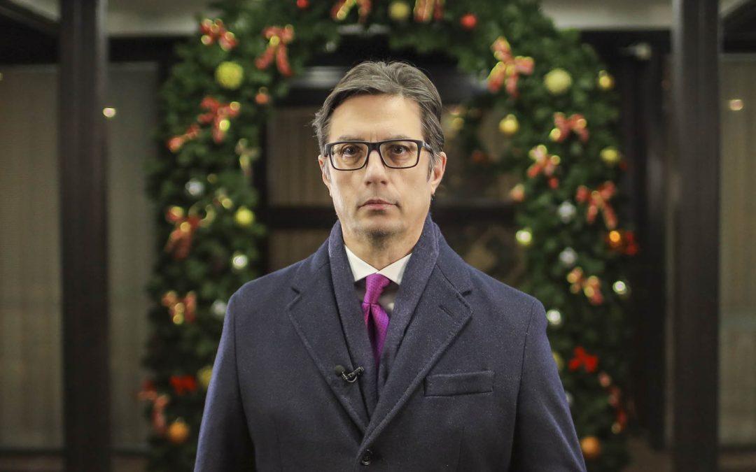 Честитка од претседателот Пендаровски по повод големиот христијански празник Христовото раѓање – Божик