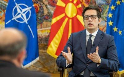 Интервју на претседателот Стево Пендаровски за ТВ Клан