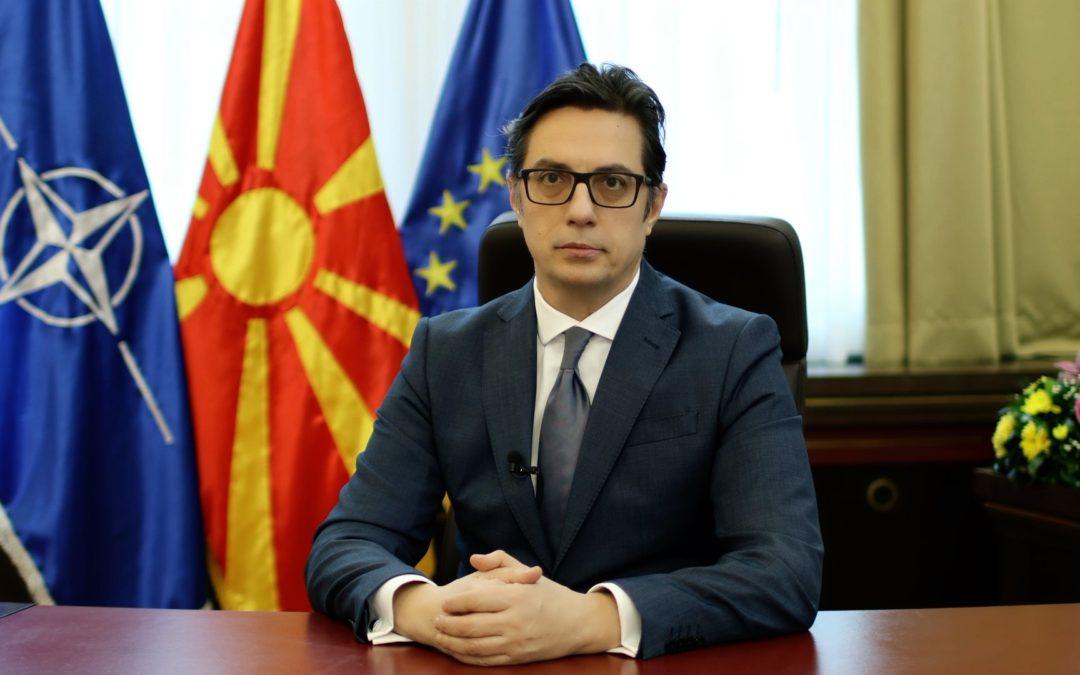 Fjalimi i Presidentit Pendarovski në dhënien e Çmimit për humanizëm të Akademisë së Ohrit për Humanizëm
