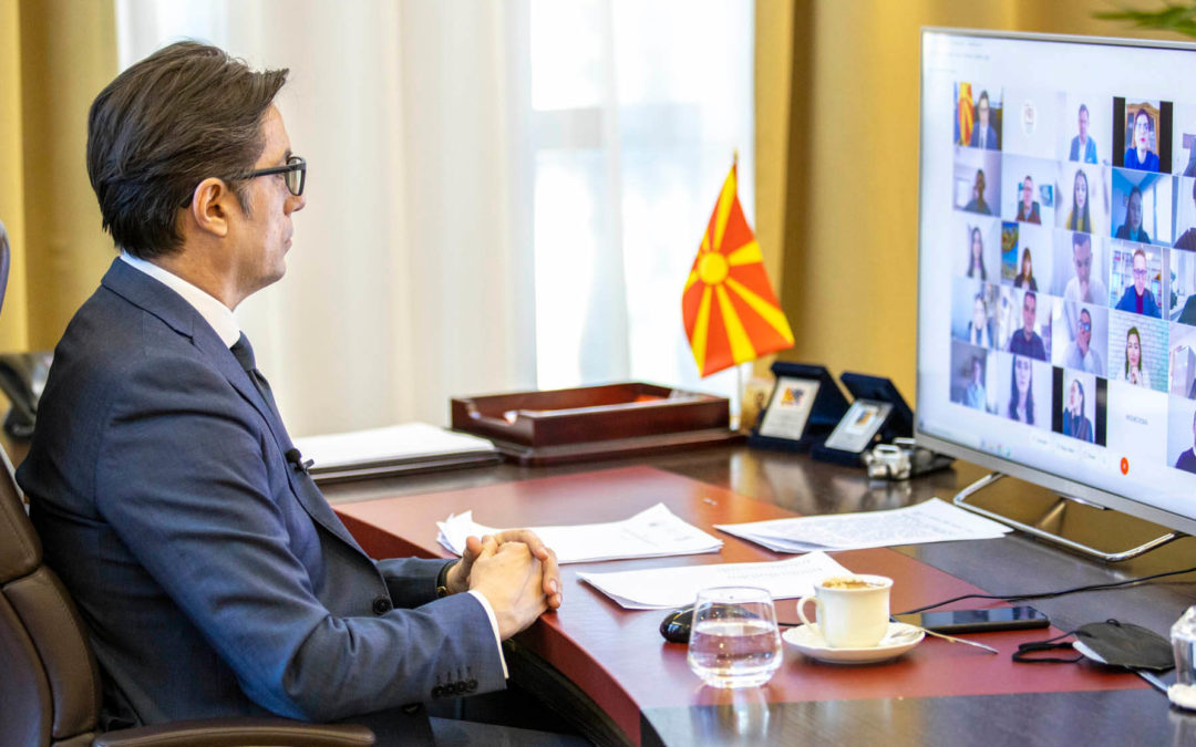 """President Pendarovski: Ultimate goal is to keep graduates here – """"Young Managers and Business Leaders"""" program begins"""