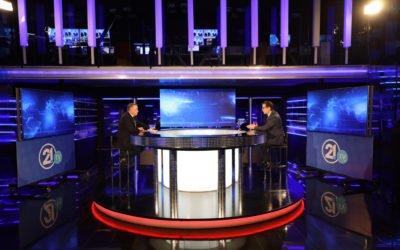 """Интервју на претседателот Стево Пендаровски за емисијата """"Клик Плус"""" на ТВ 21"""