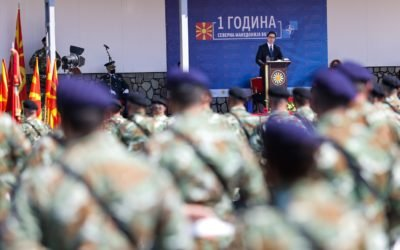 Претседателот Пендаровски: Нашата прва година од членството во НАТО потврди дека не сме сами во справување со предизвиците