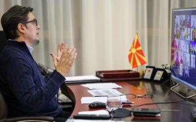 """Претседателот Пендаровски учествуваше на дебатата """"Одлив на мозоци и состојбата со демократијата во Европа"""""""