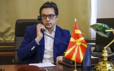 Претседателот Пендаровски оствари телефонски разговор со Генералниот секретар на НАТО, Столтенберг