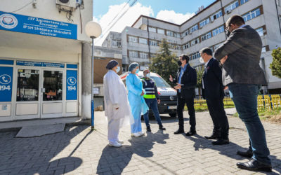President Pendarovski in Gostivar: Vaccination should go continuously until full immunization of the population