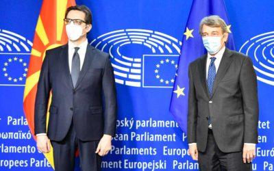 Средби на претседателот Пендаровски со потпретседателот на ЕК и Висок претставник за надворешна и безбедносна политика на ЕУ, Борел и со претседателот на ЕП, Сасоли
